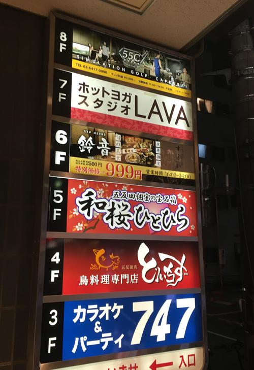 ホットヨガスタジオラバ 五反田